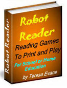 More Printable Reading Games